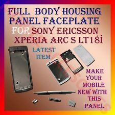 High Quality Full Body Housing Faceplate for Sony Ericsson Xperia ARC S LT18i