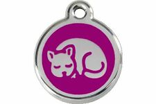 Red Dingo Engraved Pet ID Tag for Dog & Cat - Cat Tags