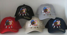 Native Pride Dream Catcher Baseball Cap with USA flag and Eagle