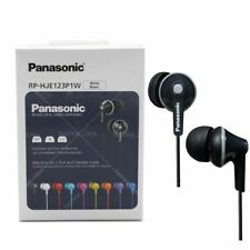 Panasonic RP-HJE120 In-Ear Headphones Awesome sound of cost effective