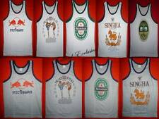 Muay Thai Singlet, Vest. T Shirt. Casual Wear, Choice of Colours and Sizes