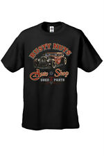 MEN'S VINTAGE AUTO T-SHIRT Rusty Nuts USED PARTS AUTO SHOP HOT ROD S-2X 3X 4X 5X