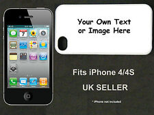 Your Own Image / Own Text i Phone 4 / 4S Case / Cover (iPhone)