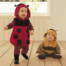 Baby Boy Girl Christmas Party Ladybug/Bee Costume Outfit Suit Dress Cloth 6-24M