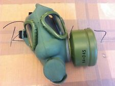 Vintage Gas Mask New / Un-worn Not-Issued With Unused Filter Green Black Straps