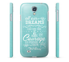 Dreams Walt Disney Quote - Hard Cover Case for iPhone, Samsung, 65+ other phones