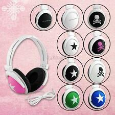 10 Designs Star Skull Stereo Headphone Earphone Headset For DJ PSP MP3 MP4 PC