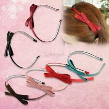 trendy hair ornaments bow tie bowknot hair band hoop headband for girl