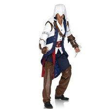 Men's Adult Video Game Assassin's Creed III Connor Cosplay Costume BRAND NEW