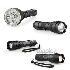 CREE XML XM-L T6 LED Torch Flashlight Light Lamp 1000/1600/1800/4000Lm 5 Modes