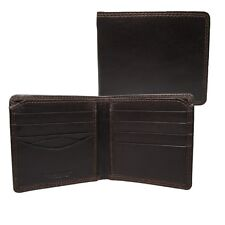 Kenilworth Gents Mens High Quality Luxury Leather Wallet 8 Credit Card Slots 851