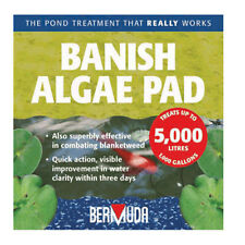 BERMUDA BANISH ALGAE PAD POND WATER TREATMENT KOI FISH BLANKETWEED GREEN WATER