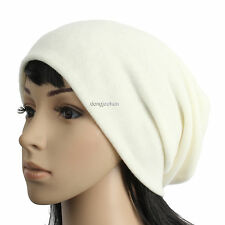 F1075 NEW UNISEX KNIT BEANIE CAP MEN WOMEN WINTER SLOUCH BAGGY HAT