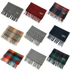 Herringbone, Houndstooth, Solid, Tartan, red, Gree, BluePlaid check tassel scarf