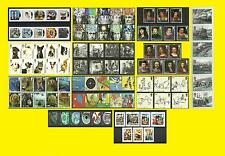 2010 Commemorative Issues SG2999 to SG3134 each Sold Separately Mint nh