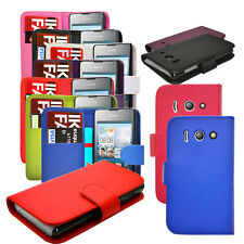 7 COLOUR PU LEATHER WALLET FLIP PHONE CASE COVER FOR HUAWEI ASCEND U8833 / Y300