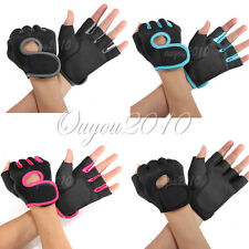 Sport Fitness Cycling GYM Half Finger Weightlifting Gloves Exercise Training new