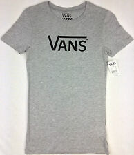 VANS. Women's or Girls LOGO T-Shirt. Various Colours. Sizes: XS, S, M, L & XL.