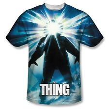 The Thing Movie Poster All Over Sublimation Print Poly Tee Shirt S-3XL