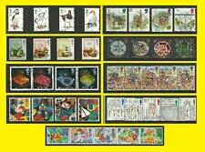 1989 All Commemorative Issues of Great Britain each Sold Separately Mint nh