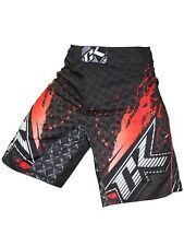 Fight Shorts Contract Killer STAINED S2 Black/Red - M L