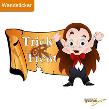 Wandsticker Wandtattoo Wandaufkleber Halloween Kinderzimmer Vampir Party