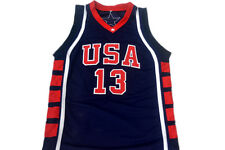 TIM DUNCAN #13 TEAM USA JERSEY NEW NAVY BLUE - ANY SIZE
