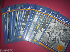 1976/77 EVERTON HOME PROGRAMMES CHOOSE FROM