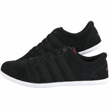 ADIDAS CONEO DSLIM LO TRAINERS BLACK NEW TOPS  Q26314 SIZES 7.5 TO 10UK