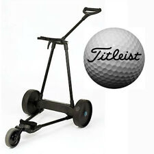 eMotion e3 Electric Pull/Push Caddy Cart + Titleist Pro V Series Golf Ball - 2dz