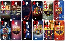 For Samsung Galaxy S4 Note 4 IV  FC Barcelona case Soccer Spain Multi-color
