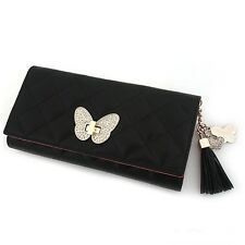 Woman Long Wallet Trifold Wallet Women Wallet 3Colors Genuine Cow Leather 3169A
