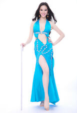 New sexy Belly Dance Costume Performance Dress Long Skirt 8 colors