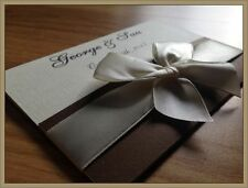 Personalised Wedding Invitations Day Evening Invites + Envelopes ★★★  MARINE ★★★