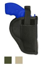 Barsony Revolver Gun Belt Clip Holster for Smith & Wesson 22 327 38 357 Snub 2""