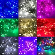 10X 10M 100 LED String Fairy Lights Linkable Christmas Wedding Party Xmas Light