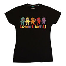 Cosmic Zombabies Skinny Fit T-Shirt Emo,Teen,Bright,Cute, Jelly Babies,Zombie