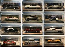 De Agostini-James Bond Collection-Scale 1:43-Modell-Sammlung-Diorama-PC-Vitrine