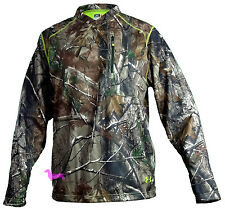 Under Armour Camo Cold Gear Deadcalm Scent Control Wind Shirt/Jacket NWT Men's
