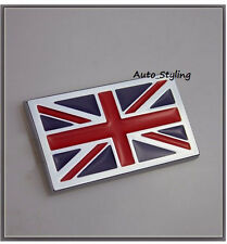 Union Jack Regno Unito BRITISH ENGLAND UK GB FLAG BADGE EMBLEMA Classic Car 13