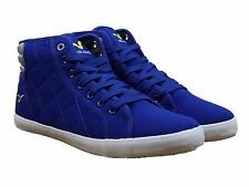 MENS NEW VOI JEANS CANTON HI TOP LACE UP STYLE FOOTWEAR IN ROYAL BLUE COLOUR