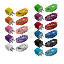 Wall AC Charger+Micro USB Cable for HTC One M7 V X S Windows 8X Max DNA Mini