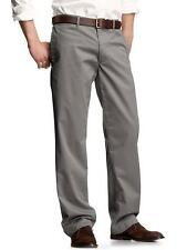 GAP RELAXED FIT STRAIGHT LEG DARK GRAY KHAKI CHINO PANTS TROUSERS CLASSIC MEN