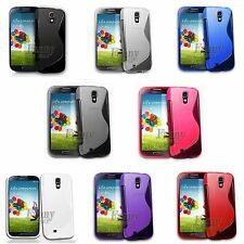 Gel Rubber TPU Silicone Skin Case Cover for Samsung Galaxy S4, SCH- M919