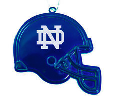 University of Notre Dame - Chirstmas Holiday Football Helmet Ornament - Blue