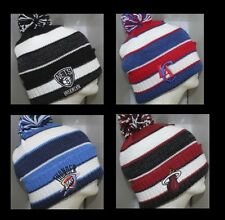NBA Knit Cap Beanie Hat with Pom - Multiple Teams Available - NBA Pom Knit