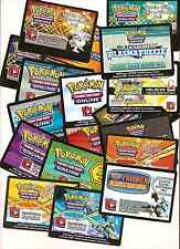 Pokemon Unused TCG Online Codes Code Mailed Tropical Beach Booster Ex Card