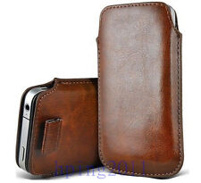 NEW PU Leather Pouch Bag Case Cover Skin for apple iPhone 5 5S 5G 5C HOT