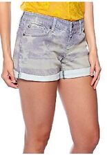 Jessica Simpson July 4th Forever Washed Out American Flag Rolled Cuff Shorts