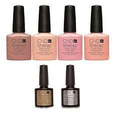 CND Shellac UV Gel Polish ~THE INTIMATES COLLECTION~COLORS, Top &  Base coat